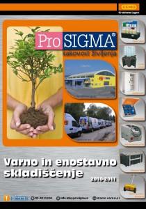 ProSIGMA - Varno in enostavno skladiščenje