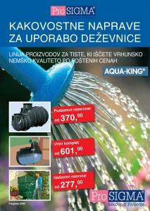 ProSIGMA - Kakovostne naprave za uporabo deževnice