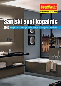 Baumax - katalog Sanjski svet kopalnic 2011/2012