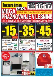 Lesnina - XXXL dnevi slovenskih dobaviteljev