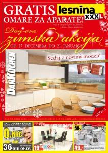 Lesnina - Zimska akcija kuhinj DanKüchen