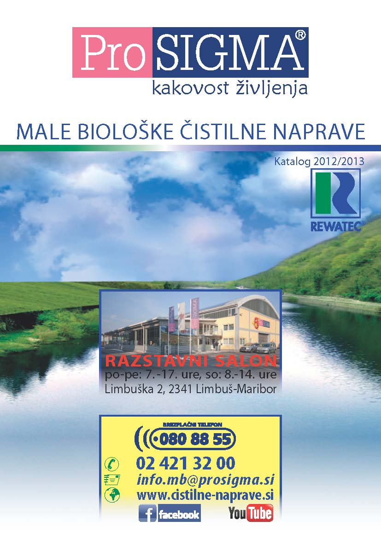 ProSIGMA - Male biološke čistilne naprave