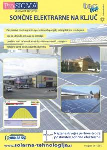 ProSIGMA - Sončne elektrarne na ključ