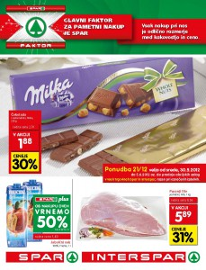 Spar / Interspar - Vikend letak 21/12
