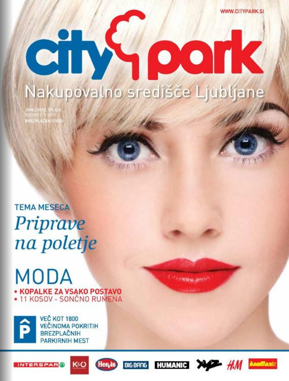 Citypark - Časopis junij 2012
