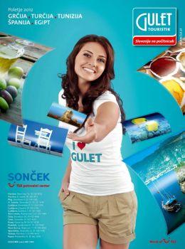 Gulet touristik katalog - poletje 2012