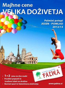Palma katalog - nova doživetja 2012/2013