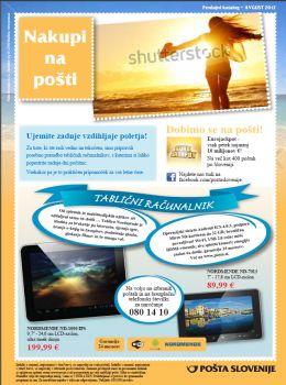 Pošta Slovenije katalog - aktualna akcijska ponudba