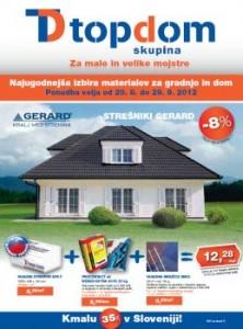Top Dom katalog - Ugodna ponudba izdelkov za gradnjo in dom