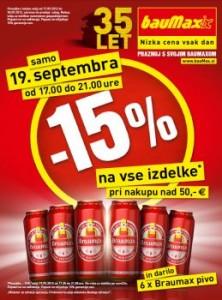 Baumax katalog - 15% popust na vse izdelke