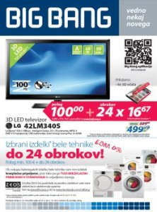 Big Bang katalog - Bela tehnika do 24 obrokov