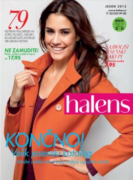 Halens katalog - novi trendi - jesen 2012