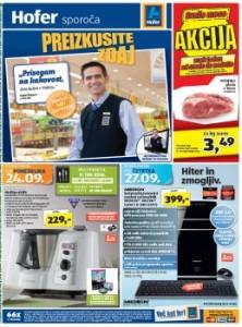 Hofer katalog - Aktualna tedenska ponudba