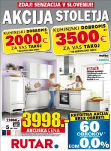 Rutar katalog - Kuhinjski dobropisi