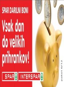 Spar katalog - katalog darilnih bonov