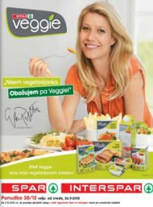 Spar katalog - Ponudba nove linije Veggie