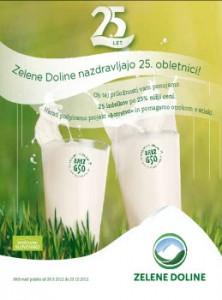 Tuš katalog - posebna ponudba Zelene Doline