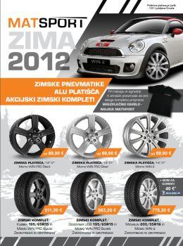 MATSPORT katalog - Zimske pnevmatike, alu platišča...