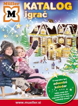 Müller katalog - Ponudba otroških igrač