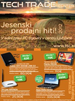 Tech Trade Center katalog - Jesenska akcijska ponudba