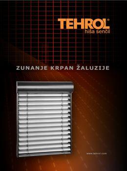 Tehrol katalog - Ponudba žaluzij
