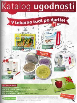 Lekarna Ljubljana katalog - V lekarno tudi po darila