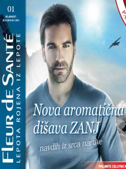 Fleur de Santé katalog - Nova aromatična dišava ZANJ