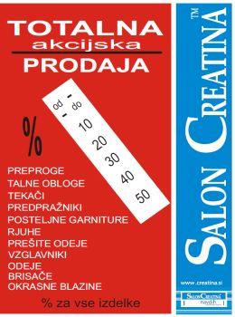 Salon Creatina katalog - Totalna akcijska prodaja