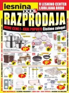 Lesnina katalog - Razprodaja