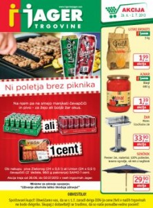 Trgovine Jager katalog - Na piknik!