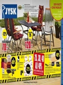 JYSK katalog - še vedno najcenejši