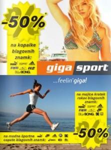 Gigasport katalog - Aktualne akcije