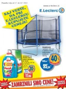 E.Leclerc katalog - Zamrznjene cene