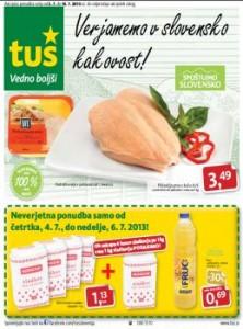Tuš katalog - Slovenska kakovost!