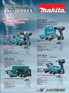 Mašinca katalog - 18V Litij-ion