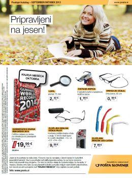 Pošta Slovenije katalog - Jesen prihaja