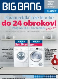 Big Bang katalog - Novosti
