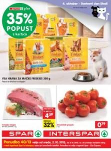 Spar katalog - Svetovni dan živali