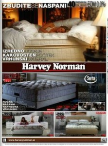 Harvey Norman katalog - Vse za dober spanec