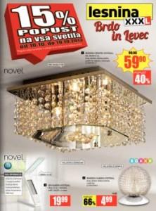 Lesnina katalog - Svetila