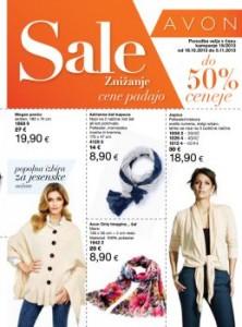 Avon katalog - Vedno nižje cene