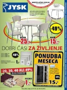 JYSK katalog - Odlična ponudba