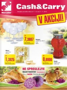 Mercator katalog - Cash & Carry ponudba