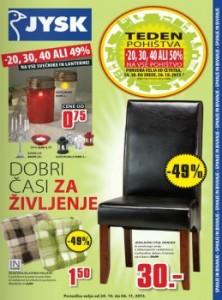 JYSK katalog - Katalog pohištva
