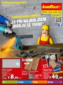 Baumax katalog - November 2013