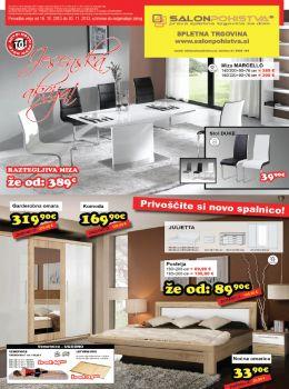 Salon pohištva katalog - Akcija