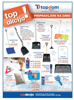 Topdom katalog - Zima