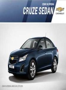 katalog-Chevrolet Slovenija