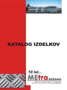 Metra Sežana katalog - izdelki