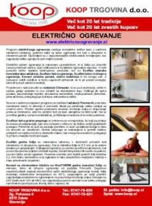 Koop katalog - Učinkovito električno ogrevanje